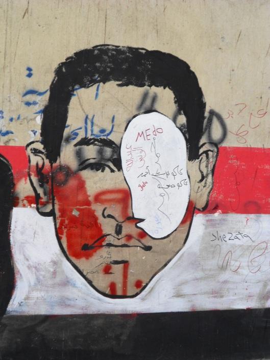 Gas mask graffiti 3