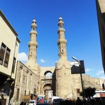 bab zuweyla minarets