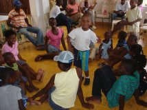 Haiti Caped Orphanage in Carrefour Feuilles
