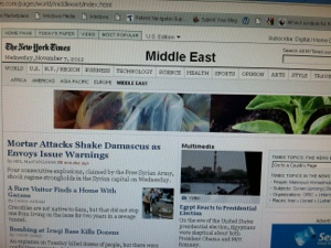New York Times Headlines - Middle East
