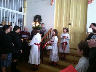 Santa Lucia, December 13