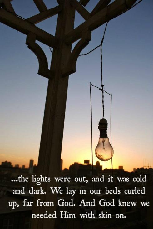 Lightbulb quote