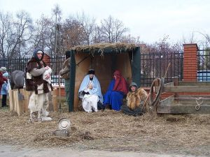 manger scene, advent, nativity scene