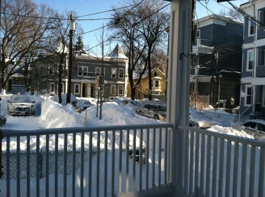 Blizzard 2013, Boston