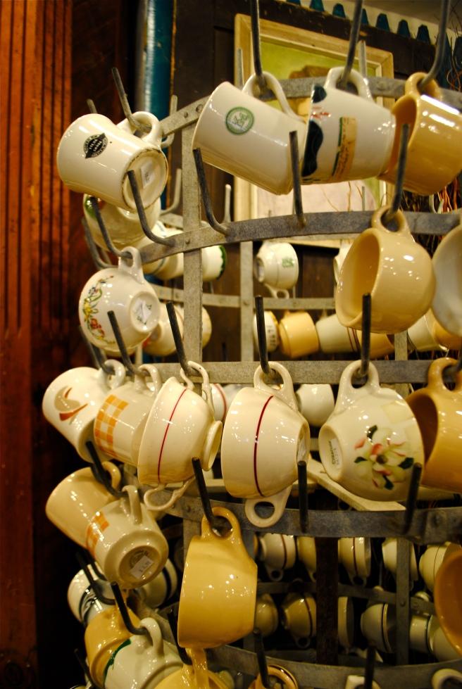 Fish's Eddy - hanging cups