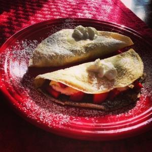 crepes, food