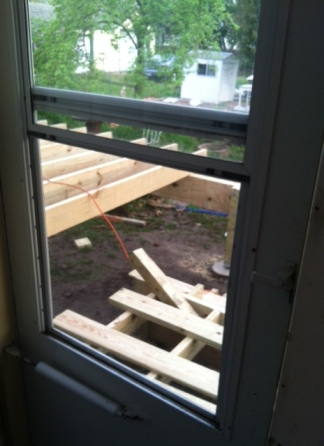 Lean into chaos Porch project