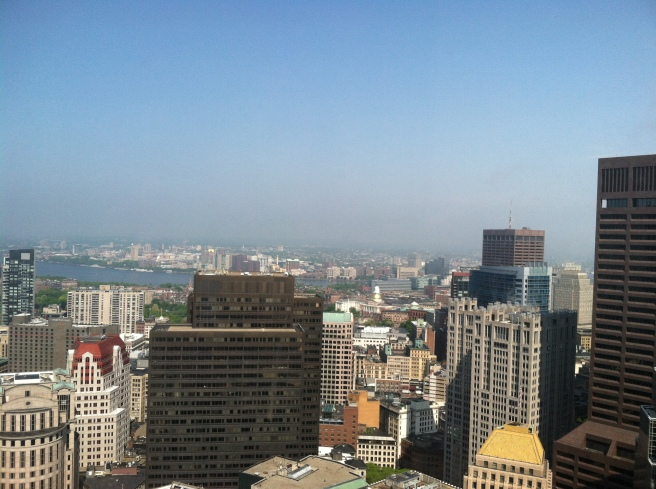 Boston from Federal Reserve Bank Building