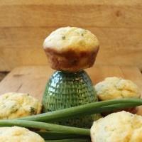 Chive Boursin Muffins