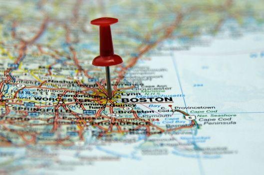 push pin Boston