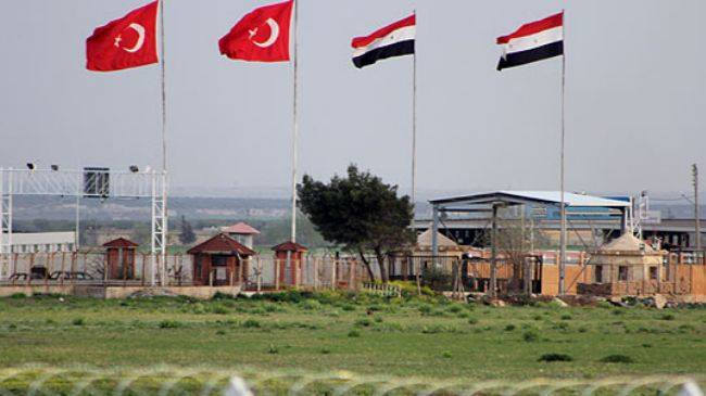 Border crossing - Turkey Syria