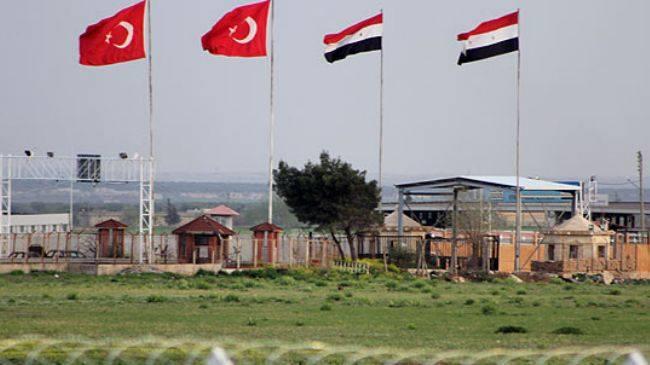 Border crossing - Turkey Syria