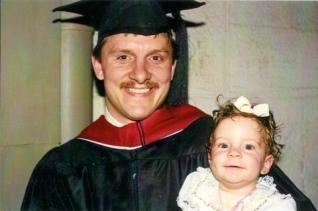 Becca Garber dad graduating from AUC