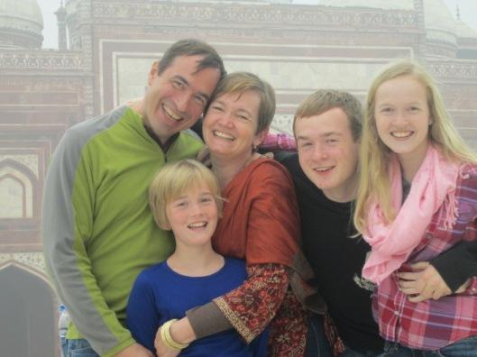 Robyn Lowell & kids