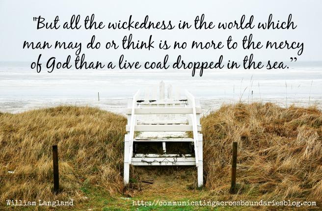 dock into ocean mercy of God