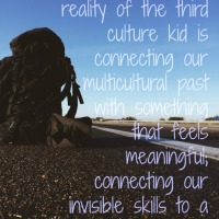 On Work and the Third Culture Kid