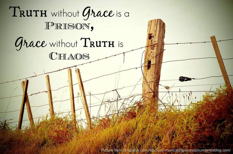 Image result for truth and grace