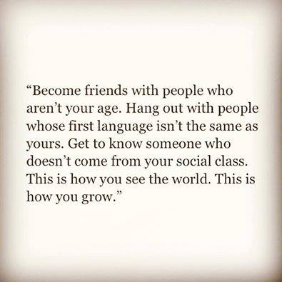 Become friends