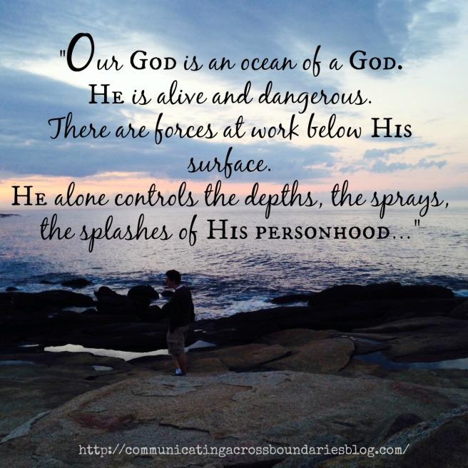 Suffering an ocean of a God