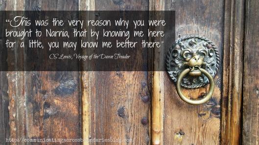 door Narnia quote