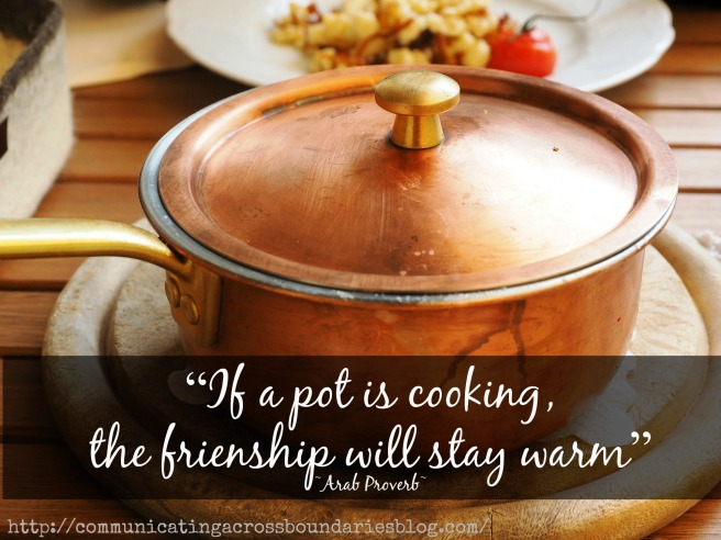 pot with quote