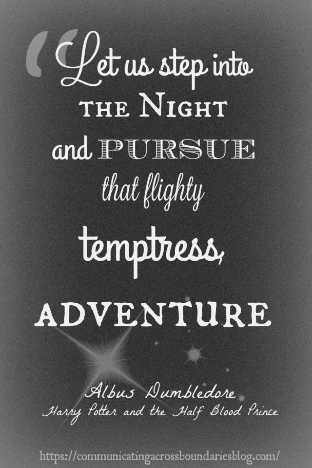 Adventure HP quote