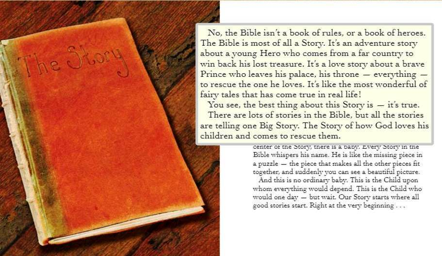 bible as story