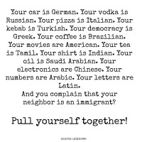 Who are the Immigrants in Your Life?