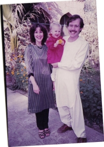 Cliff, Annie, me Shikarpur 86