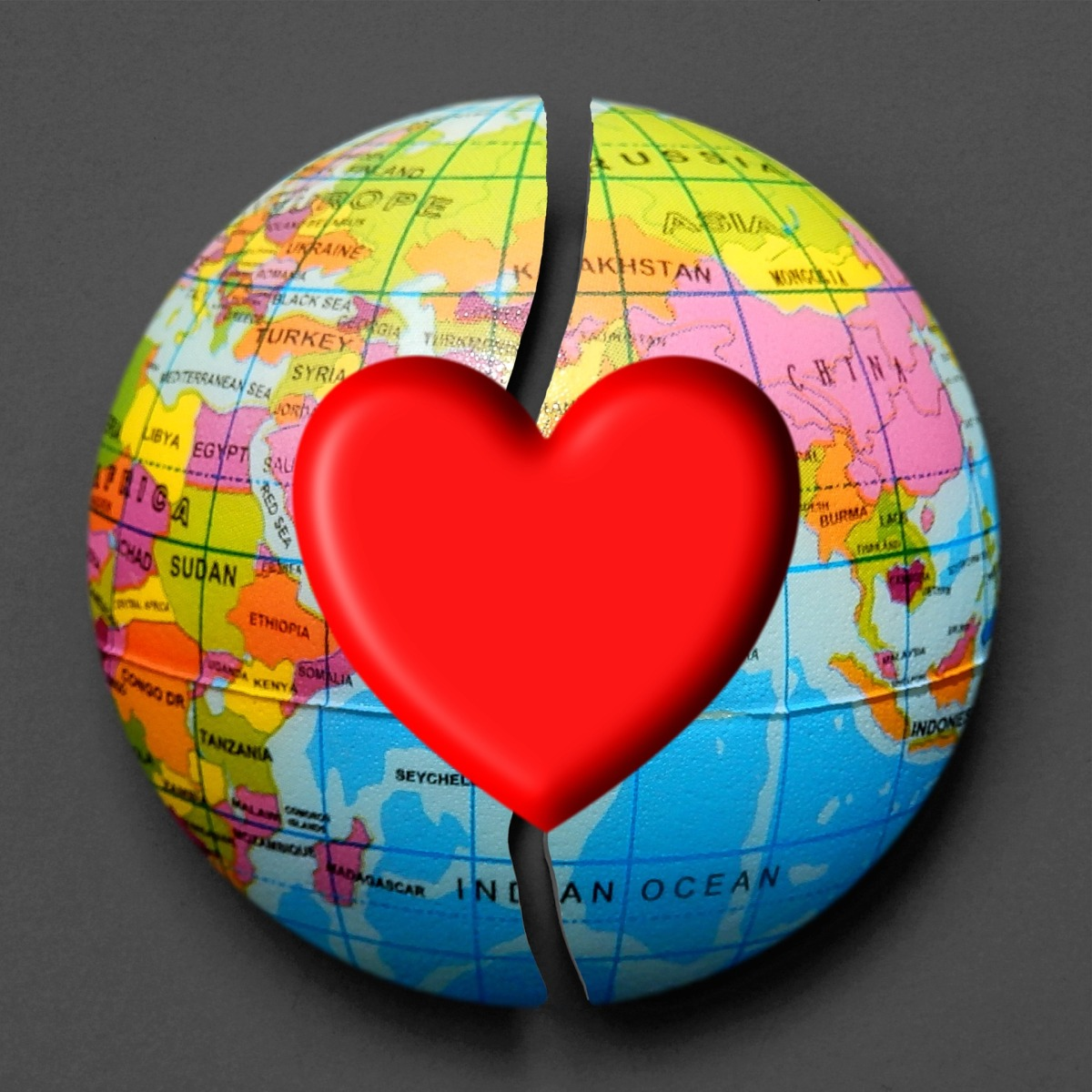Hanging Our Hearts Around the Globe
