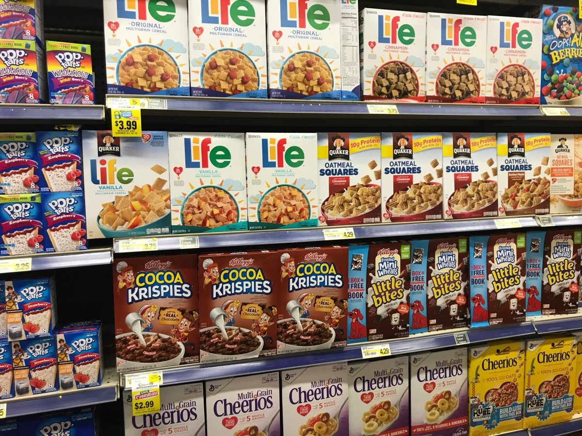Paralysis in the Cereal Aisle
